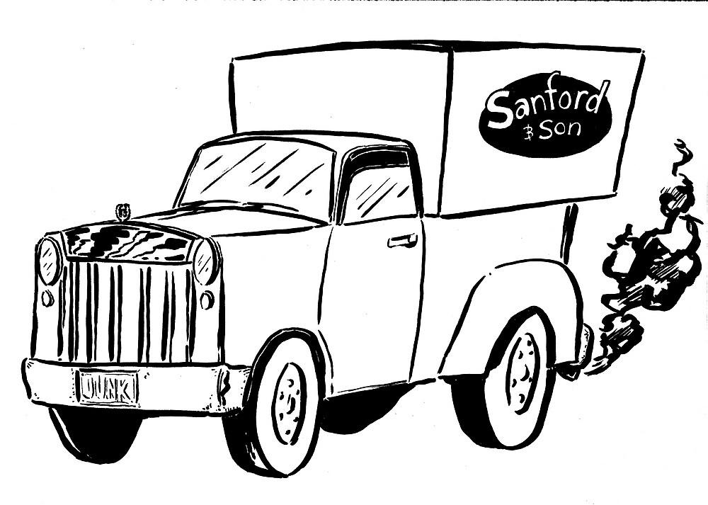 Sanford & Son Truck by joesmithrealnam