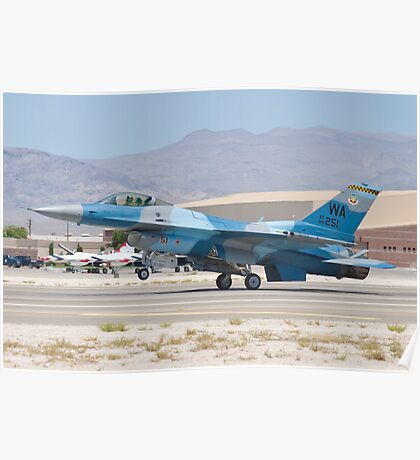 #WA AF 86 0251 F-16C Fighting Falcon Poster