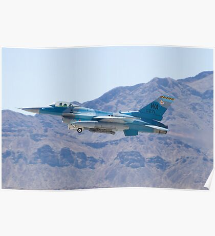 #WA AF 86 0271 F-16C Fighting Falcon Poster