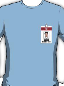 Chuck Nerd Herd ID Card Shirt T-Shirt