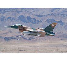 #WA AF 87 0321 F-16C Fighting Falcon Photographic Print