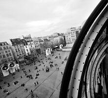Paris du Centre de Pompidou by Peppedam
