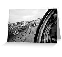 Paris du Centre de Pompidou Greeting Card