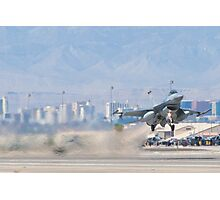 #HL AF 89 0149 F-16C Fighting Falcon Wheels Up Photographic Print