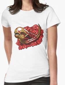 Chestburster  Womens Fitted T-Shirt