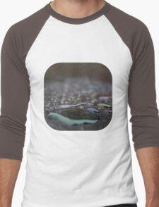 Coloured Waterdrops II Men's Baseball ¾ T-Shirt