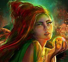 Marry the poisoned night by Amalia Iuliana Chitulescu