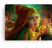 Marry the poisoned night Canvas Print