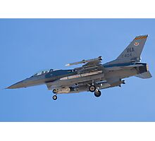 WA AF 91-0404 F-16C Fighting Falcon Photographic Print