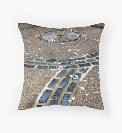 Bespeckled Walkway Throw Pillow