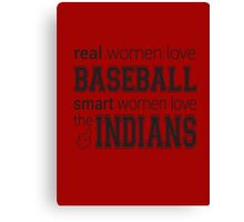 Women's Indians Tshirt Canvas Print