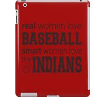 Women's Indians Tshirt iPad Case/Skin