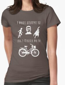 Bicycle Race Womens Fitted T-Shirt