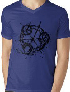 9 (Nine) Ink Source Mens V-Neck T-Shirt