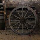Old wheel by MiskellyTrevor