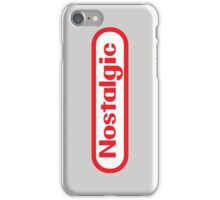 NES Collection : Nostalgic Logo iPhone Case/Skin