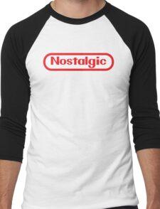 NES Collection : Nostalgic Logo Men's Baseball ¾ T-Shirt
