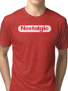 NES Collection : Nostalgic Logo Tri-blend T-Shirt