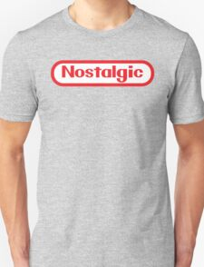 NES Collection : Nostalgic Logo T-Shirt