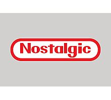 NES Collection : Nostalgic Logo Photographic Print