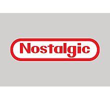 NES Collection : Nostalgic Logo Photographic Print