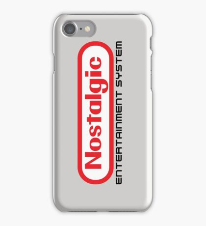 NES Collection : Nostalgic Entertainment System iPhone Case/Skin