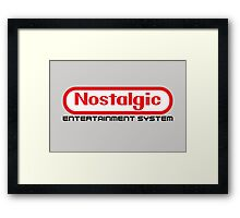 NES Collection : Nostalgic Entertainment System Framed Print