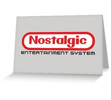 NES Collection : Nostalgic Entertainment System Greeting Card