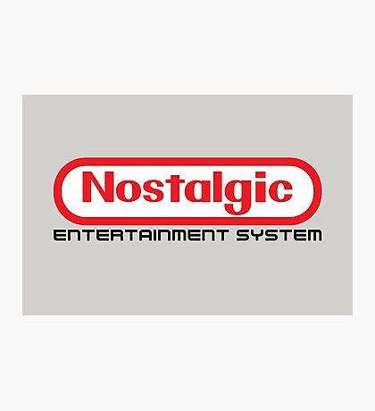 NES Collection : Nostalgic Entertainment System Photographic Print