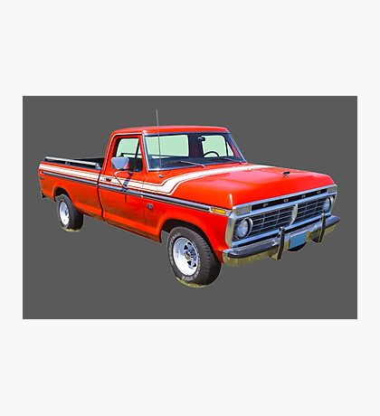 1975 Ford F100 Explorer Pickup Truck Photographic Print