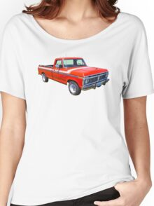 1975 Ford F100 Explorer Pickup Truck Women's Relaxed Fit T-Shirt
