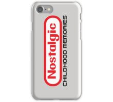 NES Collection : Nostalgic Childhood Memories iPhone Case/Skin