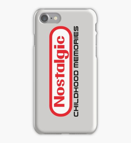 NES Collection : Nostalgic Childhood Memories iPhone Case/Skin