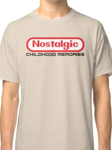 NES Collection : Nostalgic Childhood Memories Classic T-Shirt