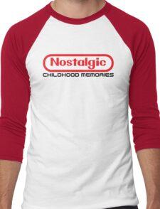 NES Collection : Nostalgic Childhood Memories Men's Baseball ¾ T-Shirt