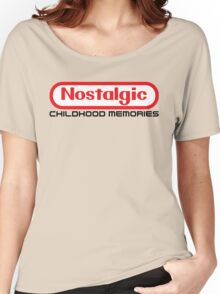NES Collection : Nostalgic Childhood Memories Women's Relaxed Fit T-Shirt