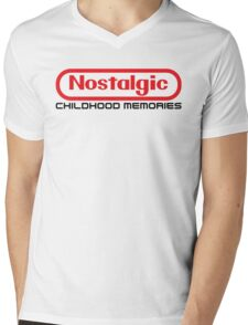 NES Collection : Nostalgic Childhood Memories Mens V-Neck T-Shirt