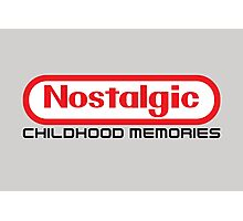 NES Collection : Nostalgic Childhood Memories Photographic Print