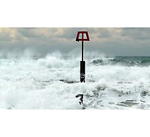 Cruel Sea Photographic Print