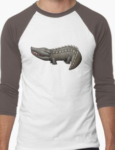 Ethical Crocodile Skin Bags Men's Baseball ¾ T-Shirt