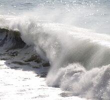 High waves in the winter - Olas altas en el invierno by Bernhard Matejka
