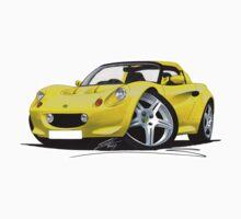 Lotus Elise S1 Yellow by Richard Yeomans