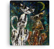 """Dusya and Vasya""  Canvas Print"