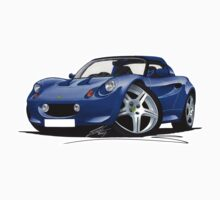 Lotus Elise S1 Blue by Richard Yeomans