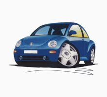 VW New Beetle Blue by Richard Yeomans