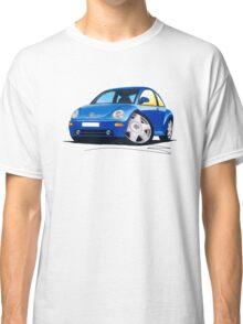 VW New Beetle Blue Classic T-Shirt