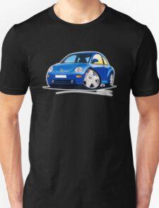 VW New Beetle Blue Unisex T-Shirt