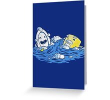 Bubble Beards Greeting Card