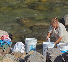 Laundry day - Dia de lavado by Bernhard Matejka