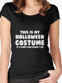 Halloween Costume Women's Fitted Scoop T-Shirt
